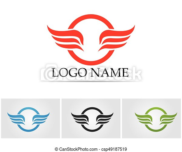 Wing Logo Symbol For A Professional Designer