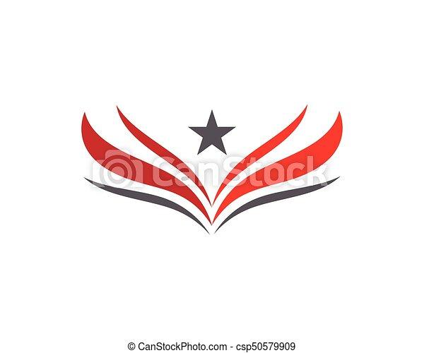 Wing Logo Template - csp50579909