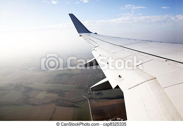 wing of an aircraft - csp8325335