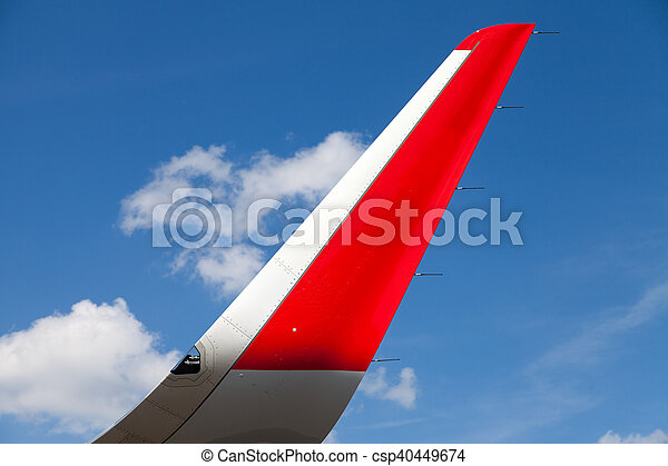 wing of an airplane - csp40449674