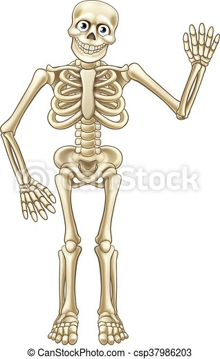 winkende   halloween  karikatur  skelett seine  skelett skeleton clipart with black background skeleton clipart art with heart