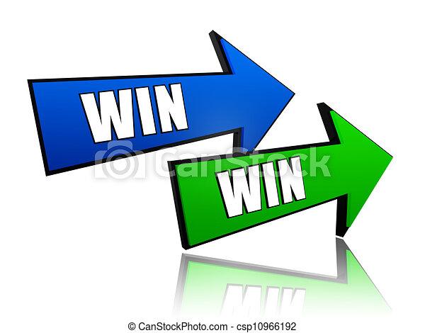 winnen, pijl - csp10966192