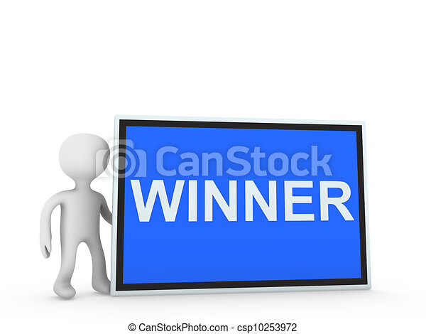 winner on panel - csp10253972