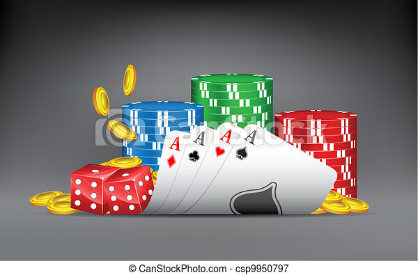 Winning Hand of Casino - csp9950797