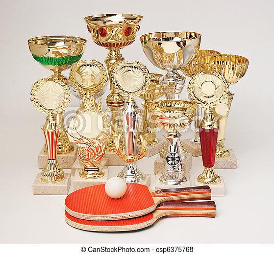 winning tennis tournaments - csp6375768
