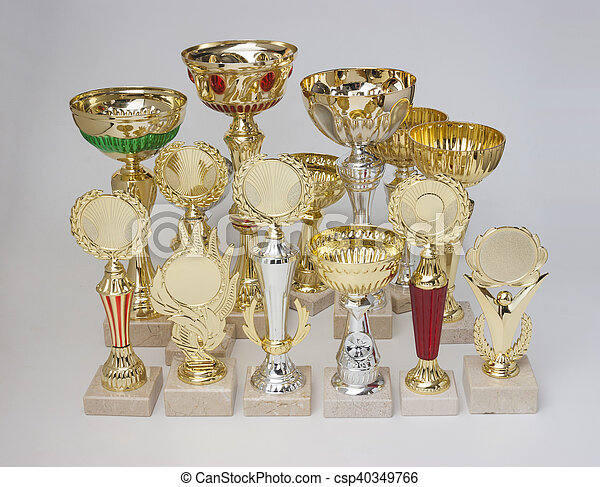 winning tennis tournaments - csp40349766