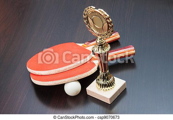 winning tennis tournaments - csp9070673