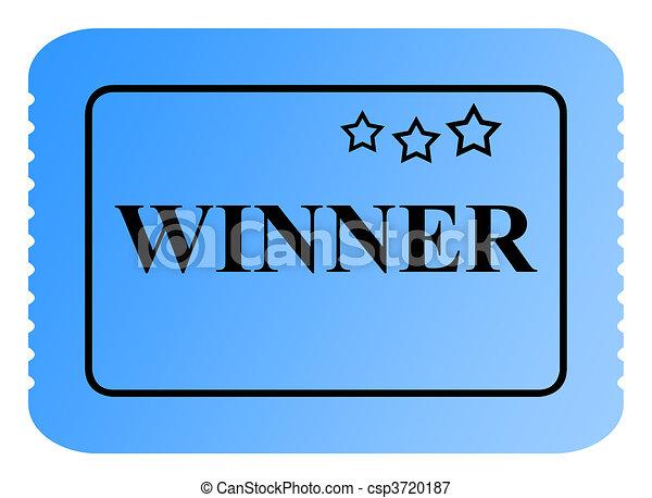 Lottery ticket clip art marvelmoviesfan stock illustrations of winning ticket winning blue raffle or sciox Gallery