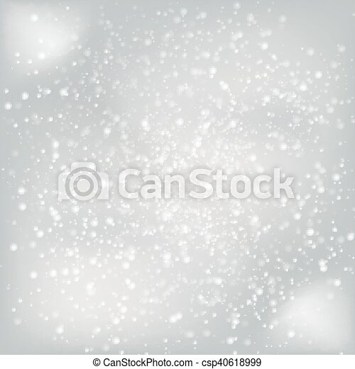 winter abstract background - csp40618999