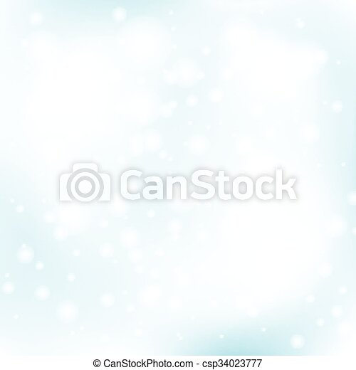 winter abstract background - csp34023777