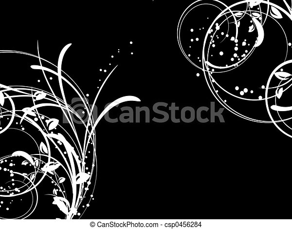 Winter abstract - csp0456284