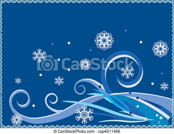 winter background - csp4511466