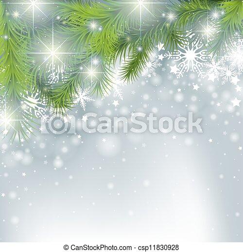 Winter Background - csp11830928