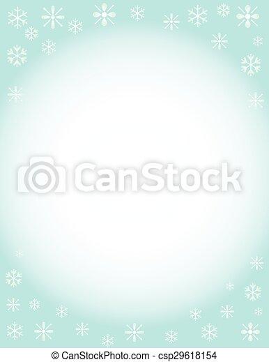 Winter Background - csp29618154