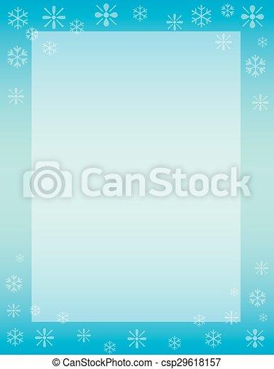Winter Background - csp29618157