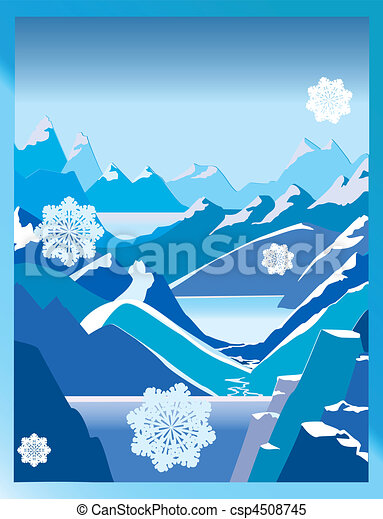 winter background - csp4508745