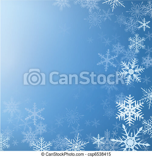 Winter background - csp6538415