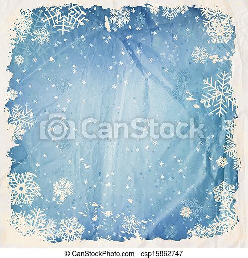Winter background - csp15862747