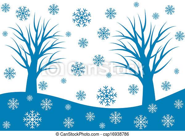 winter background - csp16938786