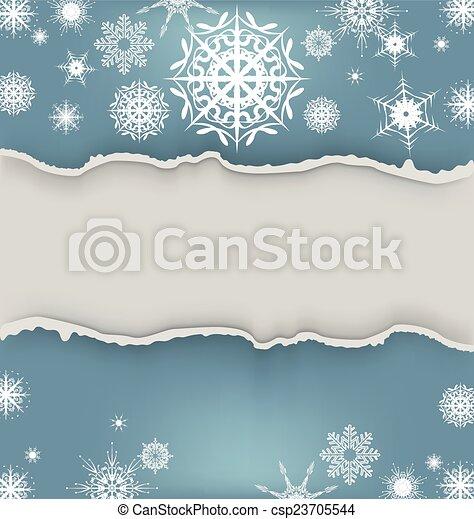 Winter Background - csp23705544