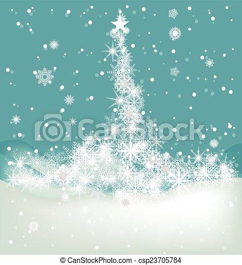Winter Background - csp23705784