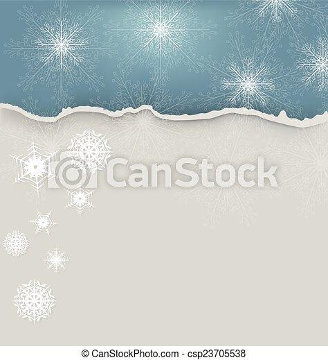 Winter Background - csp23705538