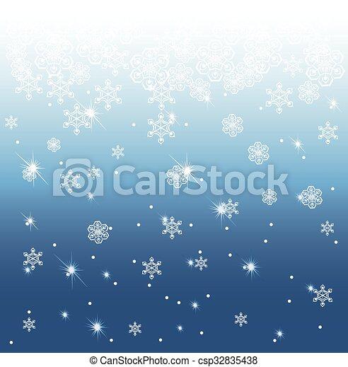 winter background - csp32835438