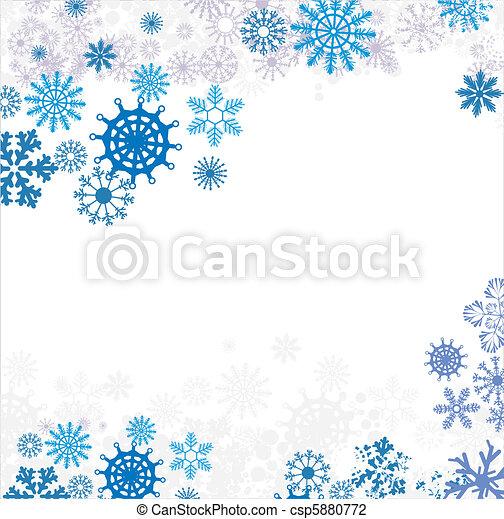 winter background - csp5880772
