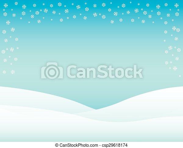 Winter Background - csp29618174