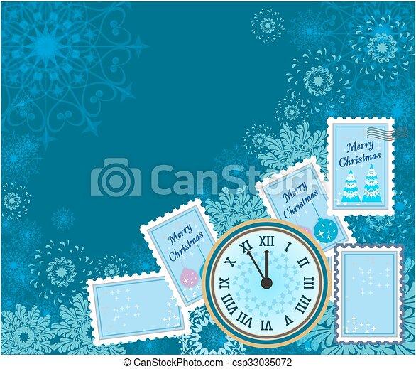 winter background - csp33035072
