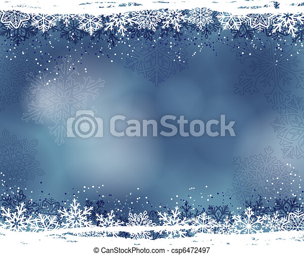 winter background - csp6472497