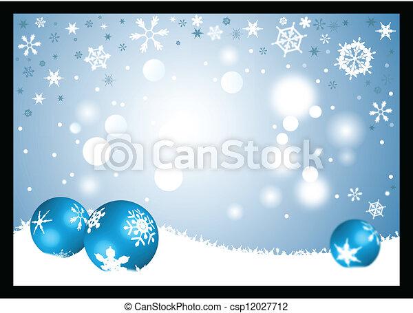 Winter background - csp12027712