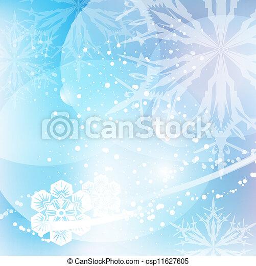 Winter background - csp11627605