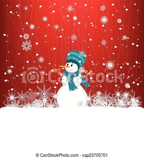 Winter Background - csp23705701