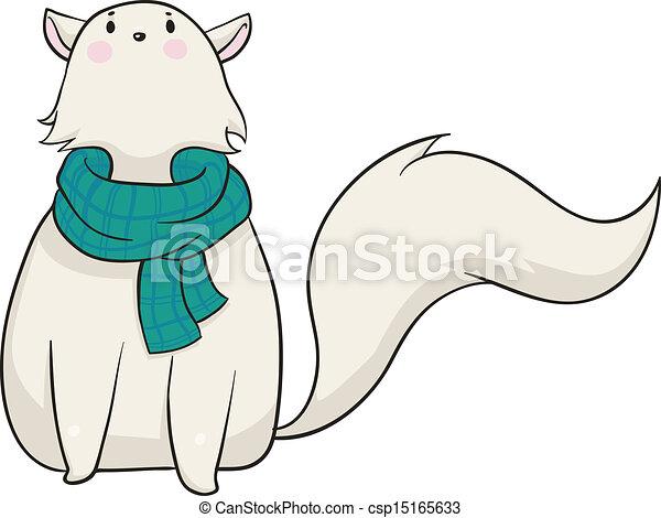 Winter Cat - csp15165633