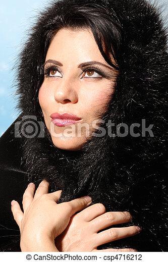 Winter Fashion Woman - csp4716212