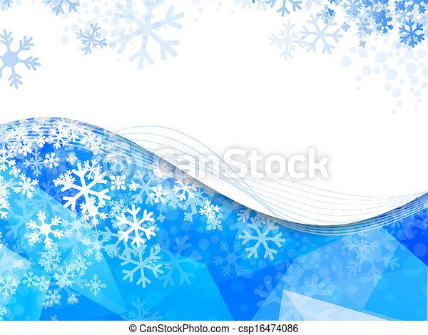 Winter Frame - csp16474086