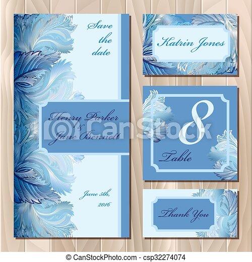 Winter Frozen Glass Card Design Printable Vector Illustration