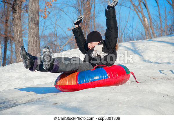 Winter Fun - csp5301309
