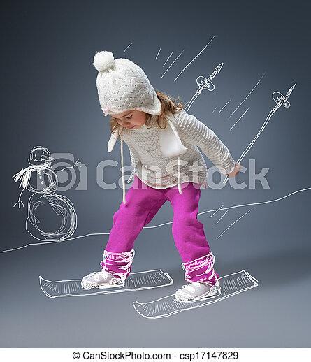 winter game - csp17147829