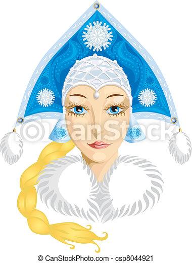 winter girl - csp8044921
