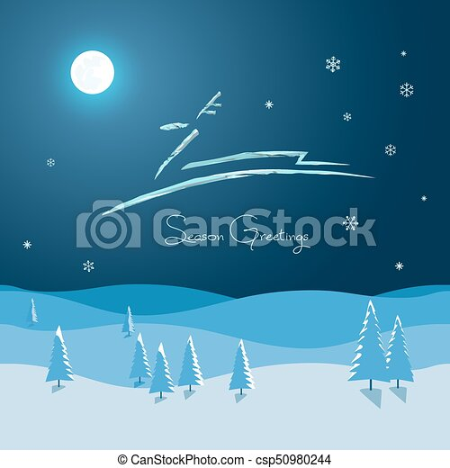 Winter greetings card new year winter season holidays greeting card winter greetings card csp50980244 m4hsunfo