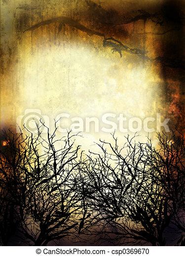 Winter Grunge Background - csp0369670
