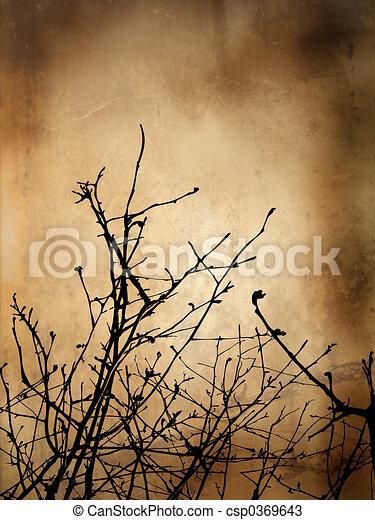 Winter Grunge Background - csp0369643