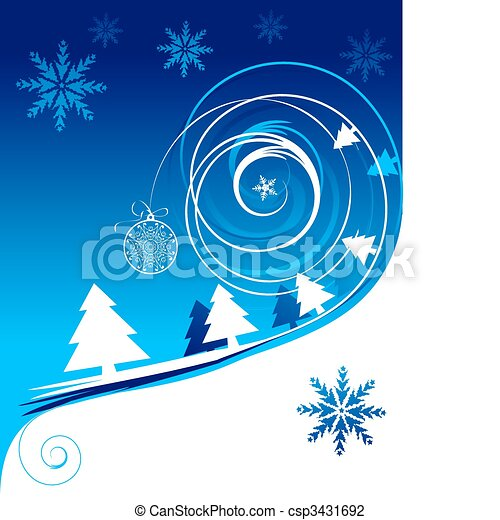 winter holiday christmas card rh canstockphoto com winter holiday scene clipart winter holiday clip art black and white