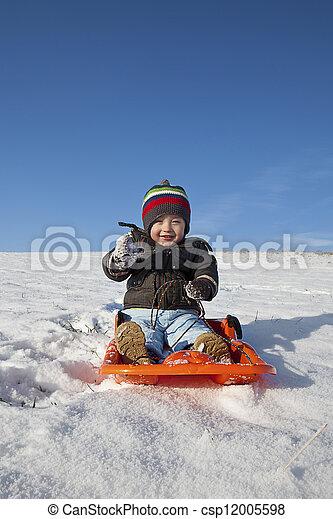 winter holiday fun - csp12005598