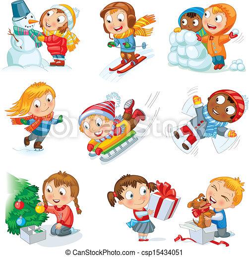 Winter holidays - csp15434051