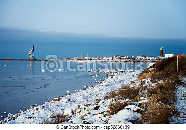 winter in Sweden - csp52860139