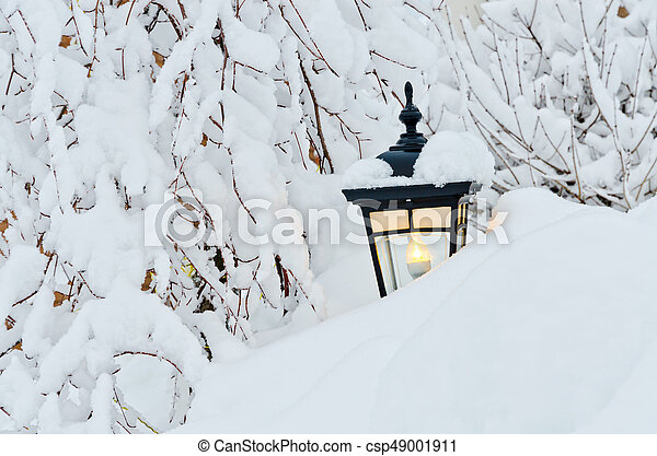 Winter in town - csp49001911