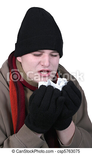 Winter influenza - csp5763075